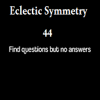 eclectic questions