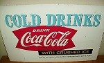 Authentic-1960s-COCA-COLA-Crushed-Ice-Vending-Machine-Tin